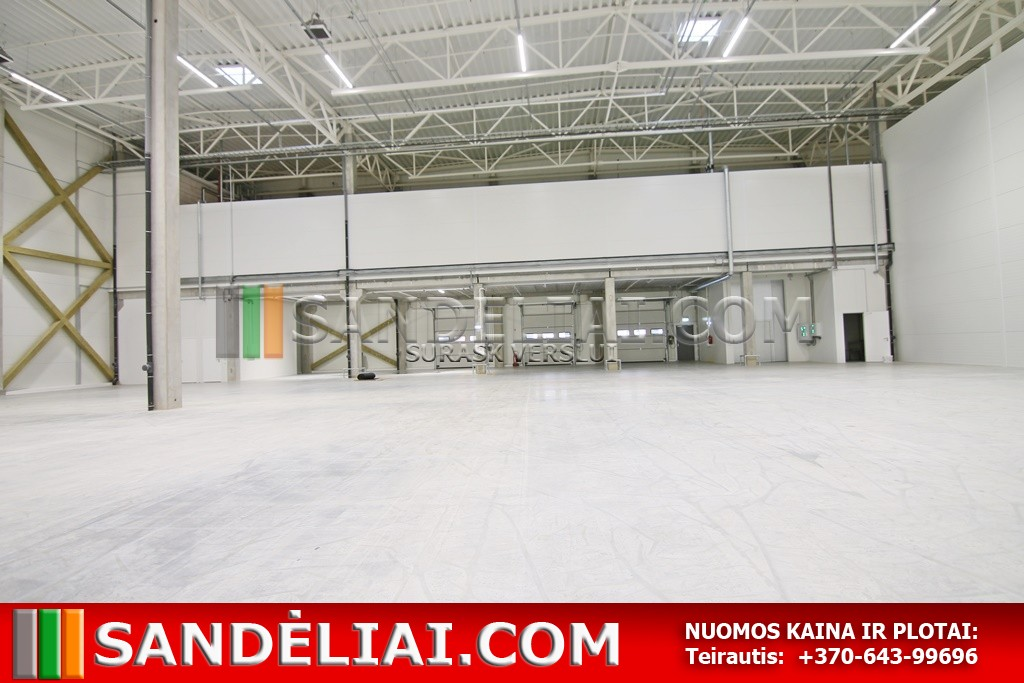 10 commercial warehouse property for rent Vilnius