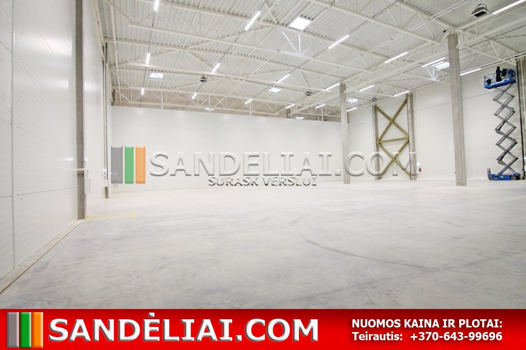 16 Vilnius industrial park for rent