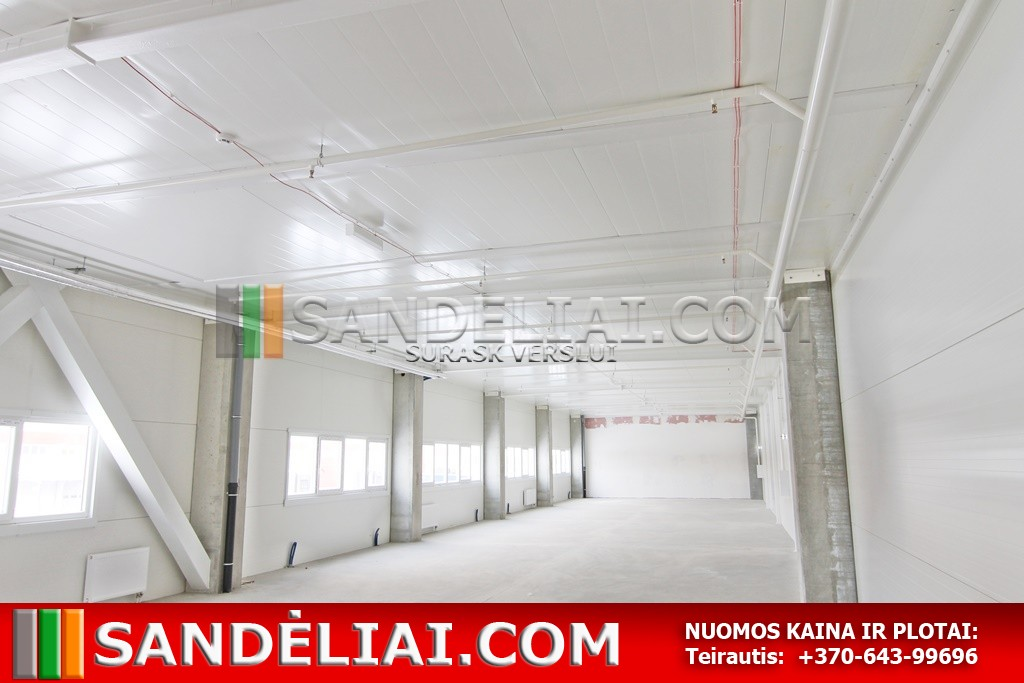 6 warehouse for rent vilnius