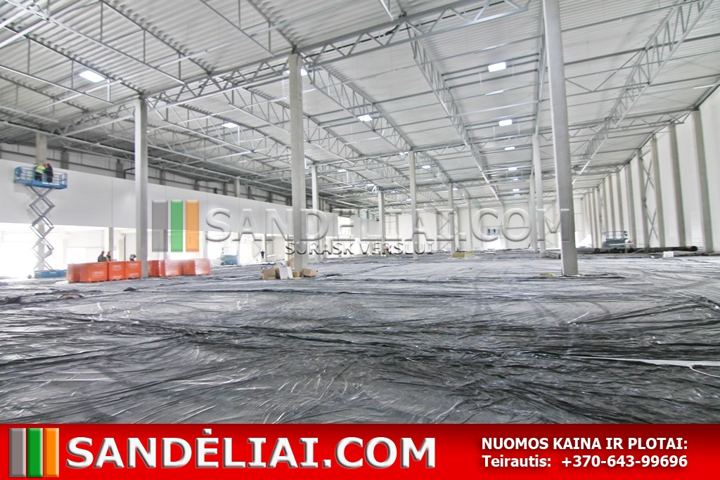 22 Property rent industrial district warehouse vilnius