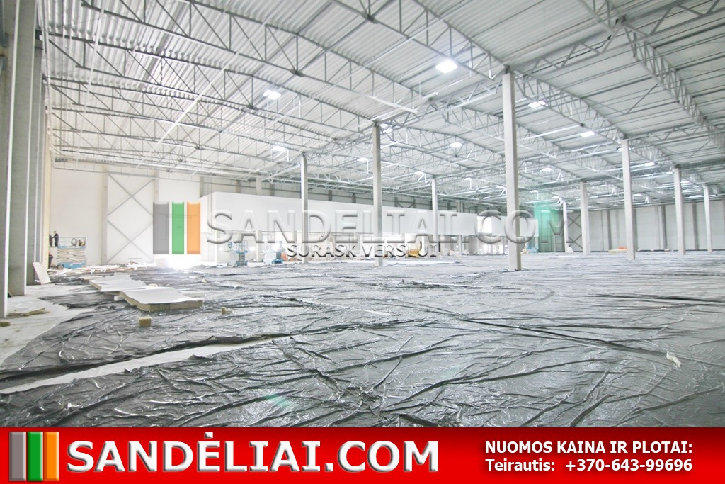 23 Industrial property rent district warehouse lithuania