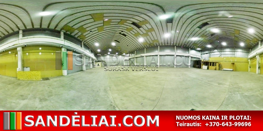 10 Vilnius industrial premises for rent